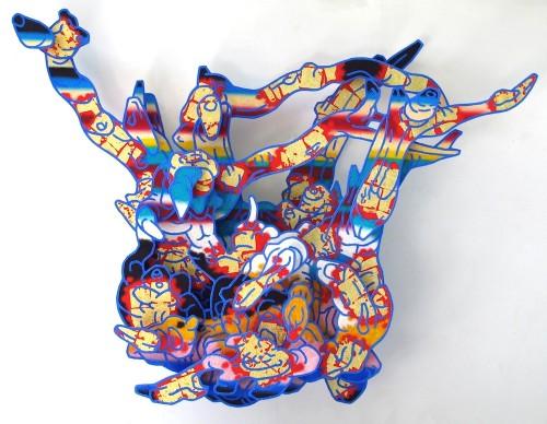 "<div class='artwork-listing'><span class='artwork-listing-artist'><a href=""/users/candy-spilner"" class=""active"">Candy Spilner</a></span>, <span class='artwork-listing-title'><a href=""/portfolio/4345/pucak-rangda-0"">PUCAK RANGDA</a></span>, <span class='artwork-listing-year'>2013</span>, <span class='artwork-listing-materials'>oil, sanoil, sand, gold leaf on constructiond, photocopy on board construction</span>, <span class='artwork-listing-dimensions'>60x84x12""</span></div>"