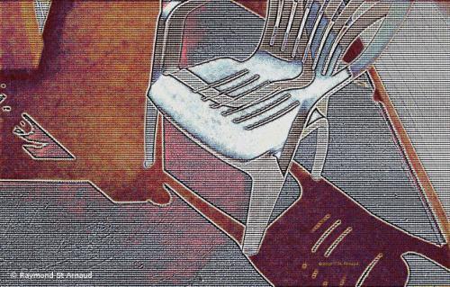"<div class='artwork-listing'><span class='artwork-listing-artist'><a href=""/users/raymond-st-arnaud"" class=""active"">Raymond St. Arnaud</a></span>, <span class='artwork-listing-title'><a href=""/portfolio/4478/chair-final-remorse"">The Chair Of Final Remorse</a></span>, <span class='artwork-listing-year'>2002</span>, <span class='artwork-listing-materials'>Digital Print</span>, <span class='artwork-listing-dimensions'>12""x18""</span></div>"