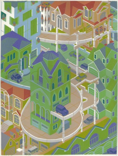 "<div class='artwork-listing'><span class='artwork-listing-artist'><a href=""/users/michael-dal-cerro"" class=""active"">Michael Dal Cerro</a></span>, <span class='artwork-listing-title'><a href=""/portfolio/4499/townhouse-mansions"">Townhouse Mansions</a></span>, <span class='artwork-listing-year'>2014</span>, <span class='artwork-listing-materials'>Woodblock Print</span>, <span class='artwork-listing-dimensions'>20"" x 15""</span></div>"