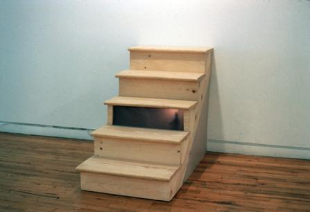 "<div class='artwork-listing'><span class='artwork-listing-artist'><a href=""/users/emily-feinstein"" class=""active"">Emily Feinstein</a></span>, <span class='artwork-listing-title'><a href=""/portfolio/4756/under-stair"">Under the stair</a></span>, <span class='artwork-listing-year'>2001</span>, <span class='artwork-listing-materials'>wood, rear screen material, motor, styrene</span>, <span class='artwork-listing-dimensions'>24w x 33 3/4"" h x 48"" D</span></div>"