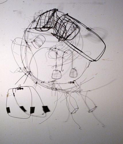 "<div class='artwork-listing'><span class='artwork-listing-artist'><a href=""/users/emily-feinstein"" class=""active"">Emily Feinstein</a></span>, <span class='artwork-listing-title'><a href=""/portfolio/4756/wire-drawing-1"">Wire drawing 1</a></span>, <span class='artwork-listing-year'>2009</span>, <span class='artwork-listing-materials'>steel, wire, rubber</span>, <span class='artwork-listing-dimensions'>20h x 18w x 11""d </span></div>"