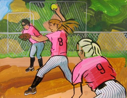 """<div class='artwork-listing'><span class='artwork-listing-artist'><a href=""""/users/nancy-mladenoff"""" class=""""active"""">Nancy Mladenoff</a></span>, <span class='artwork-listing-title'><a href=""""/portfolio/4847/softball"""">Softball</a></span>, <span class='artwork-listing-year'>2017</span>, <span class='artwork-listing-materials'>ink on paper</span>, <span class='artwork-listing-dimensions'>14""""x18""""</span></div>"""