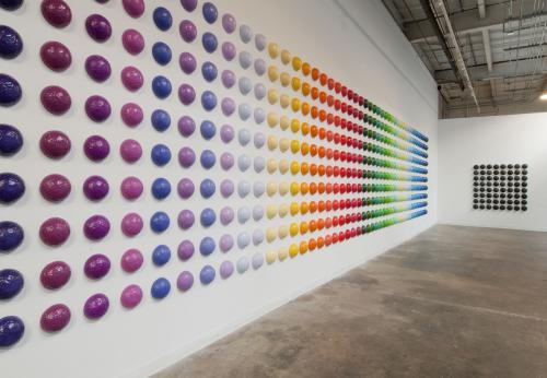 "<div class='artwork-listing'><span class='artwork-listing-artist'><a href=""/users/mia-yoon"" class=""active"">Mia Yoon</a></span>, <span class='artwork-listing-title'><a href=""/portfolio/4968/spectrum-ii-installation-0"">""Spectrum II"" installation</a></span>, <span class='artwork-listing-year'>2011</span>, <span class='artwork-listing-materials'>Mixed Media</span>, <span class='artwork-listing-dimensions'>8' x 40'</span></div>"