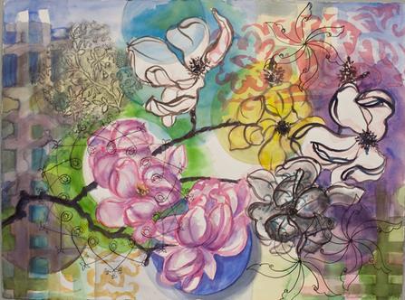 "<div class='artwork-listing'><span class='artwork-listing-artist'><a href=""/users/lucinda-knaus"" class=""active"">Lucinda Knaus</a></span>, <span class='artwork-listing-title'><a href=""/portfolio/5954/magnolia-time"">Magnolia time</a></span>, <span class='artwork-listing-year'>2010</span>, <span class='artwork-listing-materials'>watercolor, graphite, ink</span>, <span class='artwork-listing-dimensions'>22""x30""""</span></div>"