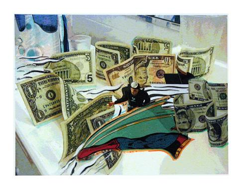 """<div class='artwork-listing'><span class='artwork-listing-artist'><a href=""""/users/brook-overline"""">Brook Overline</a></span>, <span class='artwork-listing-title'><a href=""""/portfolio/6255/money-tsunami"""">Money Tsunami</a></span>, <span class='artwork-listing-year'>2011</span>, <span class='artwork-listing-materials'>print & watercolor</span>, <span class='artwork-listing-dimensions'>11' X 14""""</span></div>"""