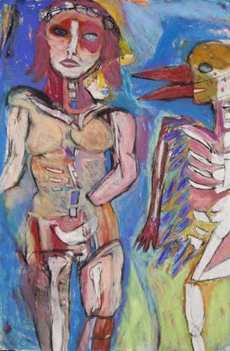 "<div class='artwork-listing'><span class='artwork-listing-artist'><a href=""/users/alaine-becker"" class=""active"">Alaine Becker</a></span>, <span class='artwork-listing-title'><a href=""/portfolio/6479/birdman-whispers"">Birdman Whispers</a></span>, <span class='artwork-listing-year'>2011</span>, <span class='artwork-listing-materials'>pastel, white oil pastel on paper</span>, <span class='artwork-listing-dimensions'>47x31</span></div>"