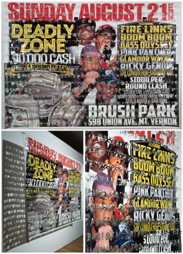 "<div class='artwork-listing'><span class='artwork-listing-artist'><a href=""/users/nicholas-fraser"" class=""active"">Nicholas Fraser</a></span>, <span class='artwork-listing-title'><a href=""/portfolio/801/jul-17-2015-avw202-deadly-zone-left-hanging-series"">JUL 17 2015 AVW202 (Deadly Zone), from Left Hanging series</a></span>, <span class='artwork-listing-year'>2016</span>, <span class='artwork-listing-materials'>hand-cut banner</span>, <span class='artwork-listing-dimensions'>54"" x 77""</span></div>"