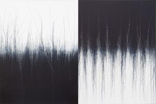 "<div class='artwork-listing'><span class='artwork-listing-artist'><a href=""/users/barbara-kolo"" class=""active"">Barbara Kolo</a></span>, <span class='artwork-listing-title'><a href=""/portfolio/8345/transition-v"">Transition V</a></span>, <span class='artwork-listing-year'>2014</span>, <span class='artwork-listing-materials'>Acrylic on Canvas, Diptych</span>, <span class='artwork-listing-dimensions'>24"" X 36""</span></div>"