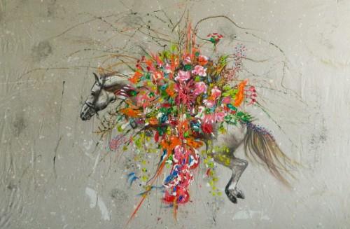 "<div class='artwork-listing'><span class='artwork-listing-artist'><a href=""/users/josafat-miranda"" class=""active"">JOSAFAT MIRANDA</a></span>, <span class='artwork-listing-title'><a href=""/portfolio/908/horse-al-tar-roses-and-magnolias"">Horse Al-Tar Roses and Magnolias </a></span>, <span class='artwork-listing-year'>2015</span>, <span class='artwork-listing-materials'>Oil and acrylic on Raw Linen </span>, <span class='artwork-listing-dimensions'>63 x 90 In</span></div>"