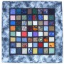 'Stained Glass Mosaic #1', by Jean M. Judd