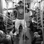 'Dancing on the NYC Subway', by Wanda Lotus